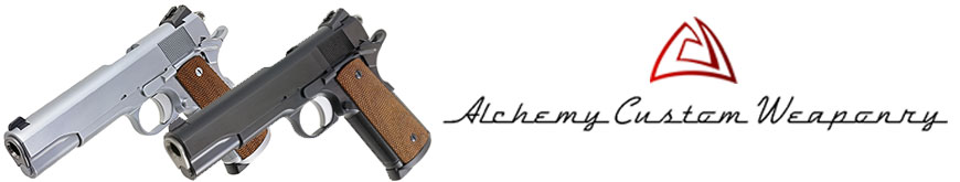 pistolet 1911 Alchemy Custom Weaponry