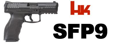 pistolet HK SFP9 9mm