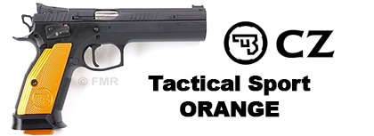 Pistolet CZ TS Orange IPSC 9mm